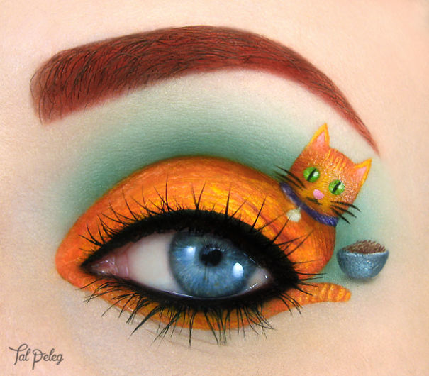 1577181707 عکسهایی جالب از آرایش چشم هنری